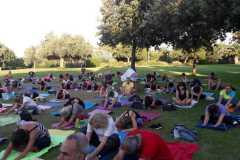Yoga al parco 2019