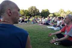 Yoga al parco