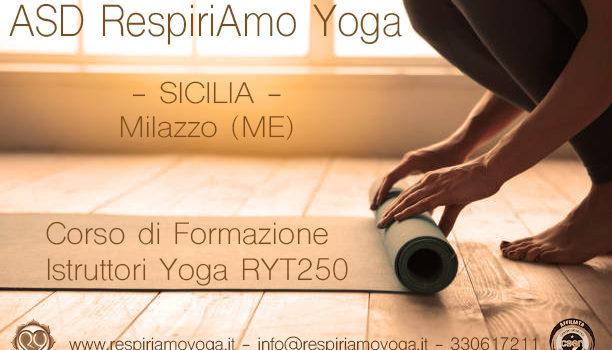 Corso di Formazione Istruttori Yoga – Sicilia – Milazzo (ME)