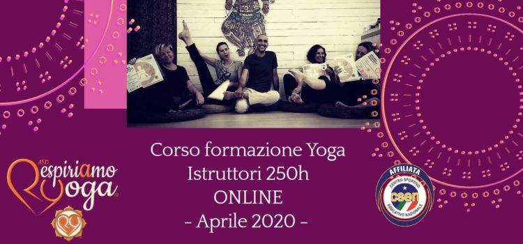 Nuovi Corsi ONLINE 2020