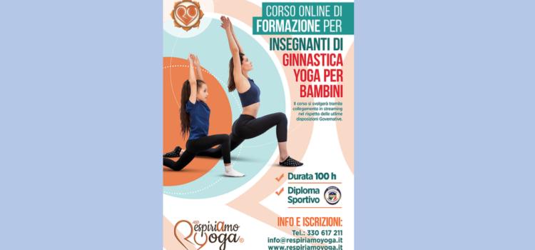 Corso Insegnanti Ginnastica Yoga Bambini – Online 100h