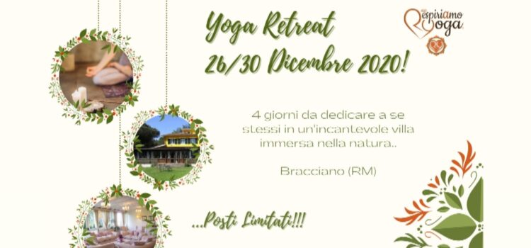 Yoga Retreat – Dicembre 2020