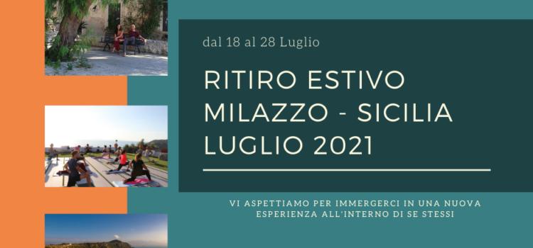 Yoga Retreat Sicilia 2021