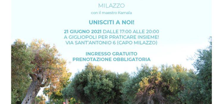 Lo Yoga del Solstizio 21 Giugno  2021- Milazzo